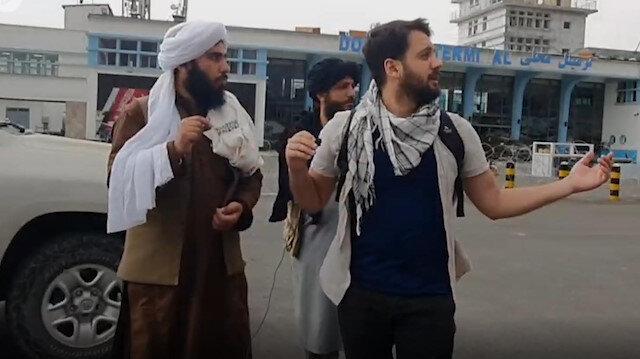 Taliban istihbarat görevlisiyle röportaj sırasında ABDnin zaman ayarlı bombaları patladı