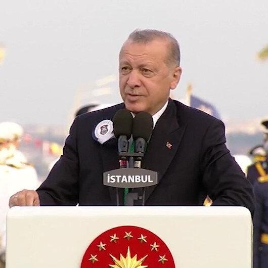Cumhurbaşkanı Erdoğan: Bizim milletimiz her dönemde teşkilatçılığı ve askeri kabiliyetiyle ön plana çıkmıştır