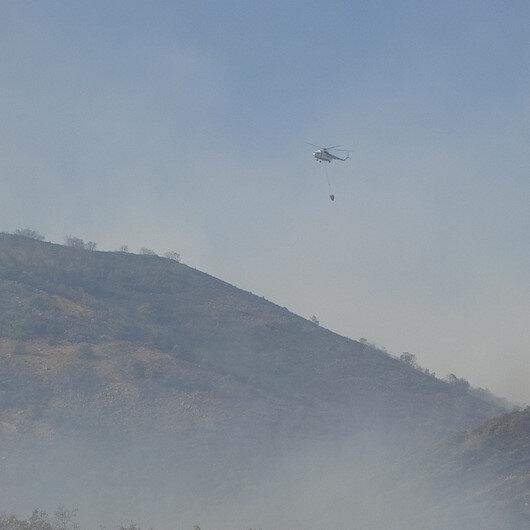 Orman Genel Müdürlüğü: Orman yangınlarına karadan ve havadan müdahale sürüyor