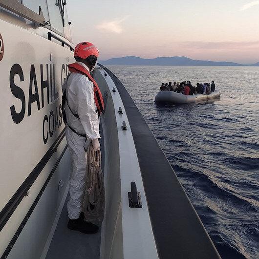 Yunanistan ölüme terk etti: Bin 45 düzensiz göçmeni Türk Sahil Güvenlik ekipleri kurtarıyor
