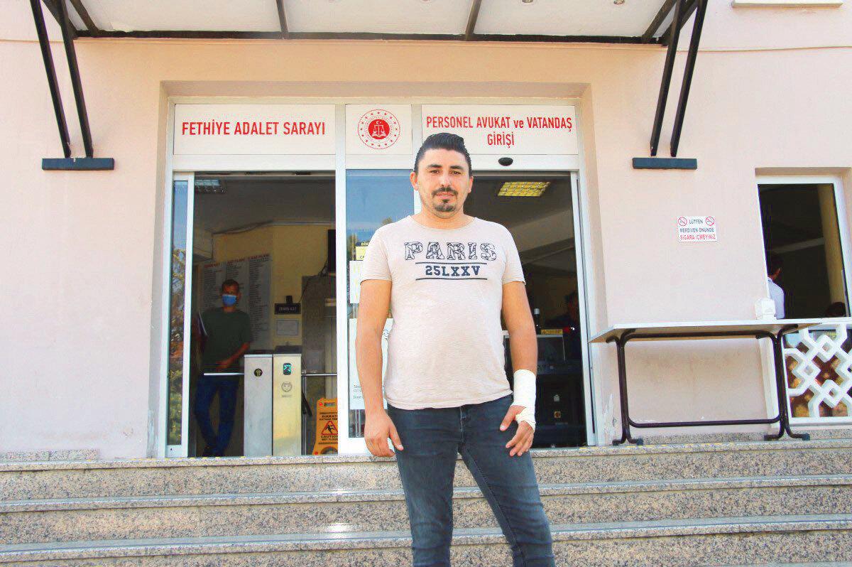Serkan Yalnız, Fethiye Cumhuriyet Başsavcılığı'na giderek şikayetçi oldu.