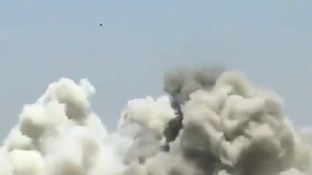 Esad rejimi halkı bombalamaya devam ediyor