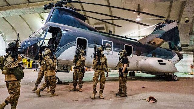 Pentagon Sözcüsü Eric Pahon: Taliban'a bıraktığımız askeri ekipmanlar müttefiklerimiz için tehdit değil