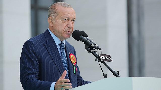 Cumhurbaşkanı Erdoğan'dan 'yargı reformu' mesajı: Çalışmalarımızı hızlandıracağız