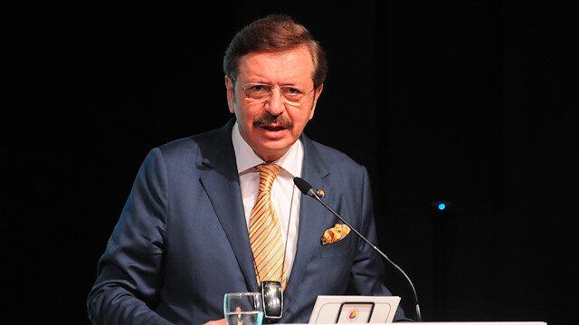 TOBB Başkanı Hisarcıklıoğlu'ndan büyüme değerlendirmesi: Sürdürülebilir büyüme ve yatırımların artması için desteklerin devam etmesi gerekiyor
