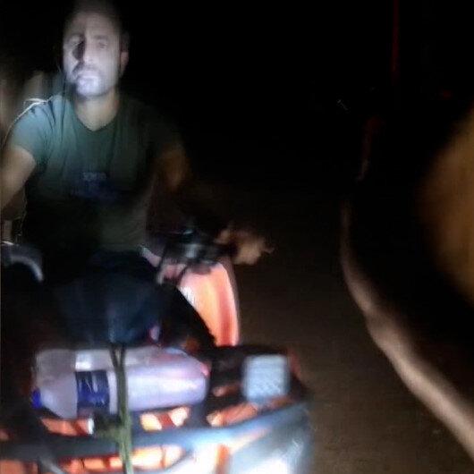 ATVlerle caretta caretta yavrularını ezip gönüllüyü yaraladılar