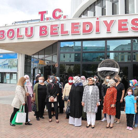 Bolulu kadınlardan CHPli Tanju Özcana tepki: Evlat hasreti çeken anneler adına çok incindik