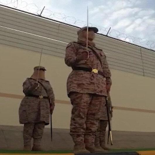 Suudi Arabistanda bir ilk: Kadın askerler mezun oldu