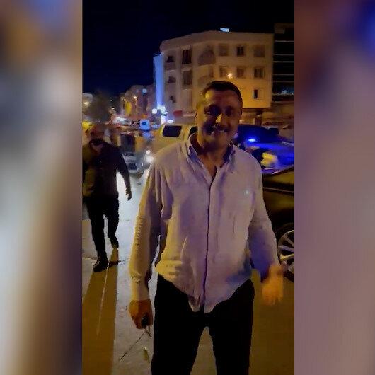 Vatandaştan Esenyurt Belediye Başkan Yardımcısı Selçuk Günerhana tepki: Alkolden ayakta duramıyorsun