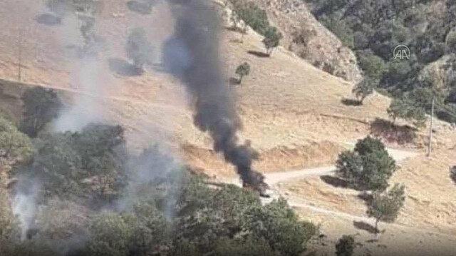 Gara, Kandil ve Sincar'da sorumlu seviyede faaliyet gösteren 3 PKK/KCK mensubu etkisiz hale getirildi