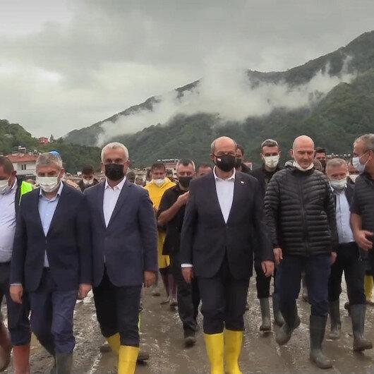 KKTC Cumhurbaşkanı Ersin Tatar Kastamonu Bozkurtta incelemelerde bulundu