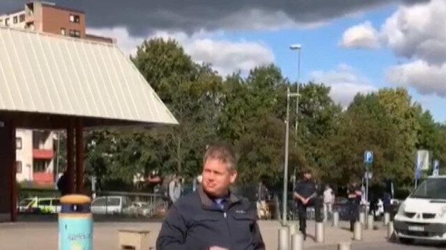 Danimarkalı İslam karşıtı siyasetçi Paludan Türk camisi önünde elinde Kur'an-ı Kerim ile provokasyon yaptı