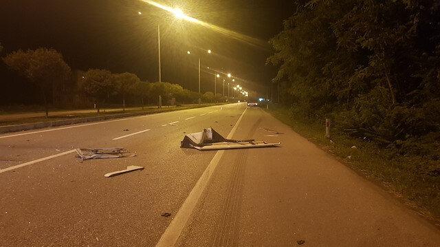 Samsun'da faciadan dönüldü: Otobüs tıra çarptı
