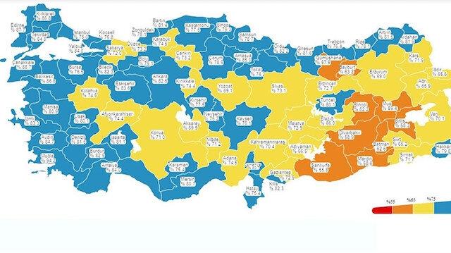 İstanbul'un aşı karnesi: En fazla Kadıköy en az Sultanbeyli