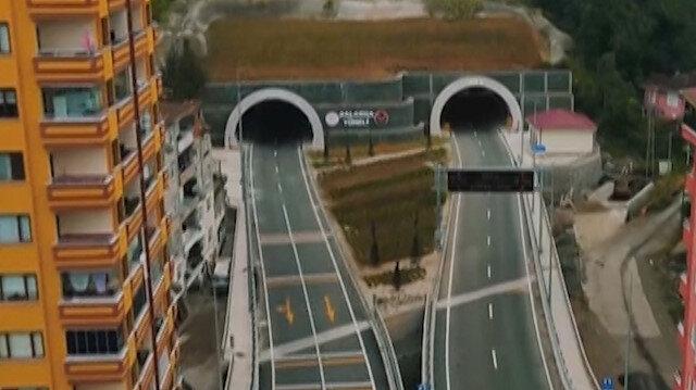 Rize'nin 70 yıllık hayali gerçek oldu: Salarha Tüneli Cumhurbaşkanı Erdoğan'ın katılımıyla hizmete açıldı