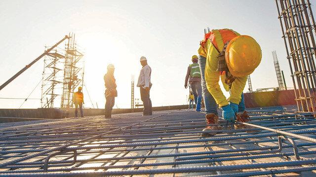 20 bin şantiyede inşaat duruyor