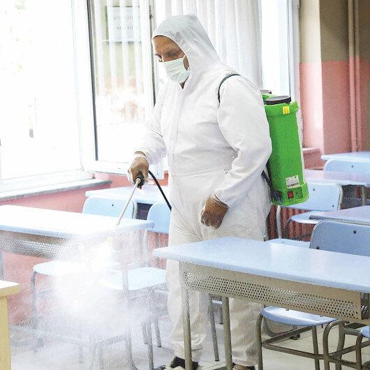Canik'te okullar pırıl pırıl