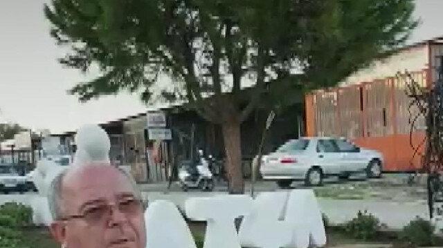 Datça Belediye Başkanı CHP'li Gürsel Uçar 'Sanayi Ağacı' heykelinin açılışına esnaf gelmeyince tören tarihini erteledi