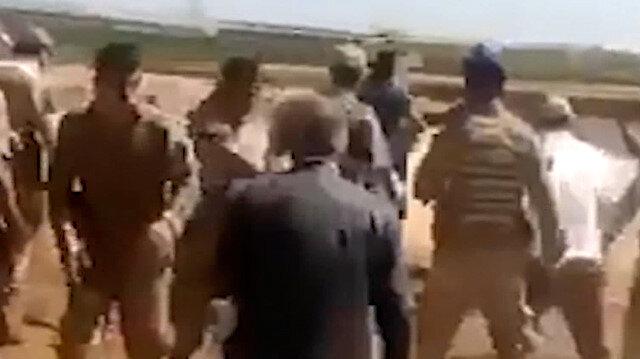 Şanlıurfa'da kaçak trafoyu sökmek için gelen jandarma ekiplerine saldırı