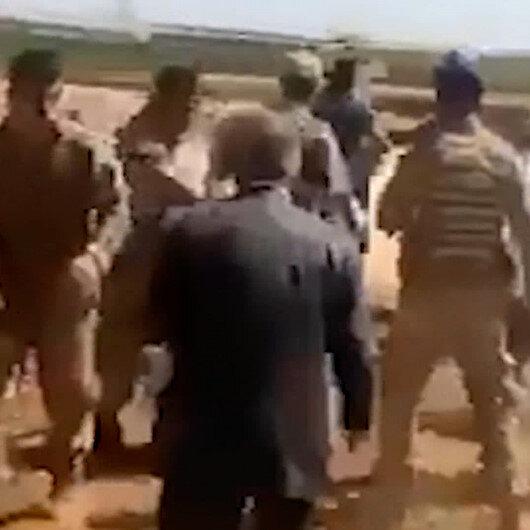 Şanlıurfada kaçak trafoyu sökmek için gelen jandarma ekiplerine saldırı