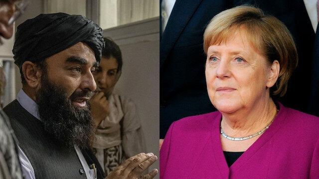 Taliban'dan Almanya Başbakanı Merkel'e Afganistan daveti: Memnuniyetle karşılarız