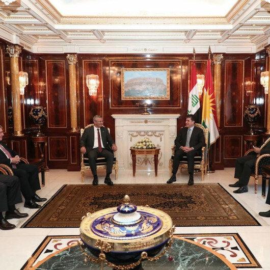 CHP heyeti Erbilde IKBY Başkanı Barzani ile görüştü