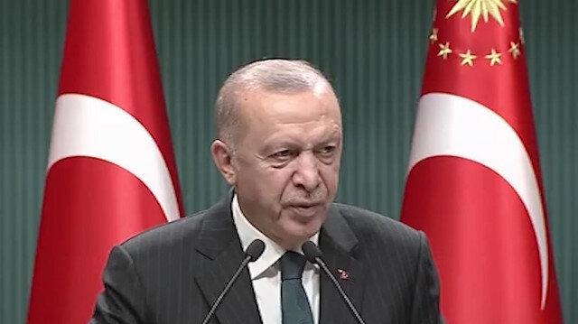 Cumhurbaşkanı Erdoğan: Salgınla mücadelede hala tek ve en önemli kozumuz aşıdır