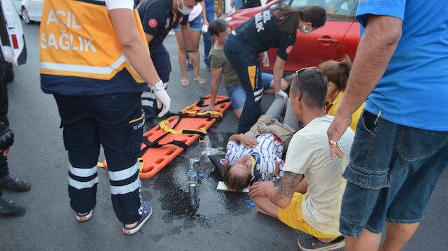 Balıkesir'de inanılmaz olay: Kazayı görünce 112'den yardım istedi yaralanan kişi eşi çıktı