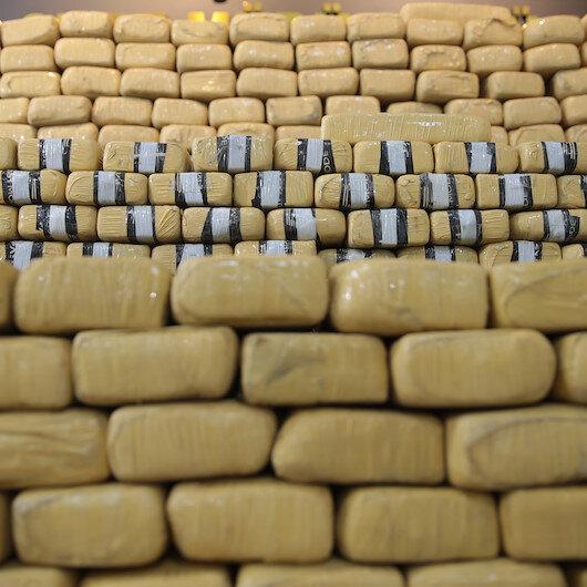Şanlıurfa'da düzenlenen operasyonda 275 kilogram eroin ele geçirildi