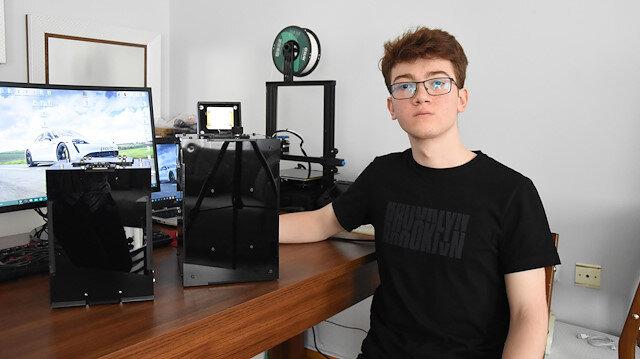 17 yaşındaki lise öğrencisi PCR cihazı üretti: Üniversite onay verdi