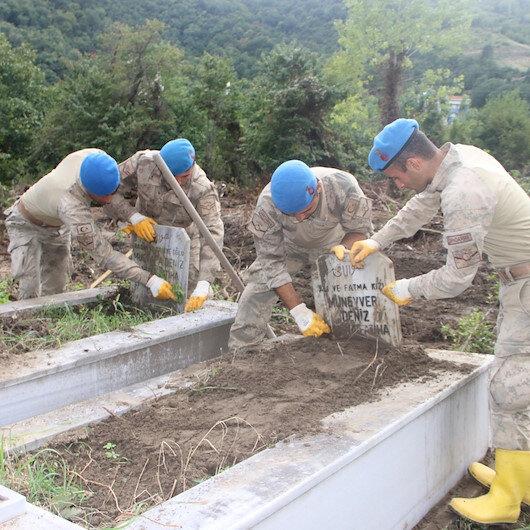 Komandoların Kastamonu'daki seferberliği sürüyor: Hem ölümüze hem de dirimize sahip çıktılar