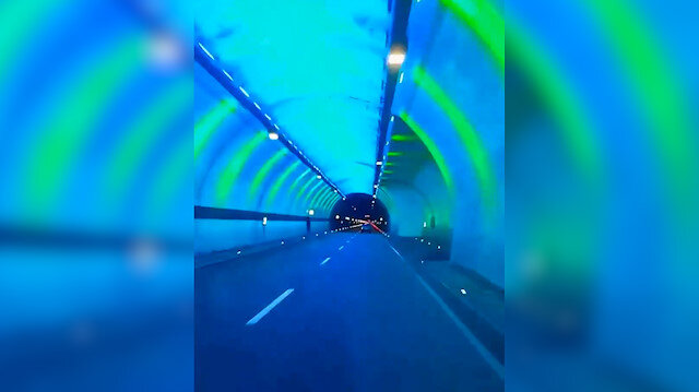 Ovit Tüneli'nden geçen vatandaş: Fatih'in torunları Ovit Tüneli gibi eserler bırakır