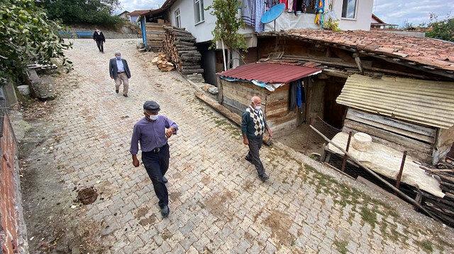Dünyayı saran koronavirüs bu köye giremedi