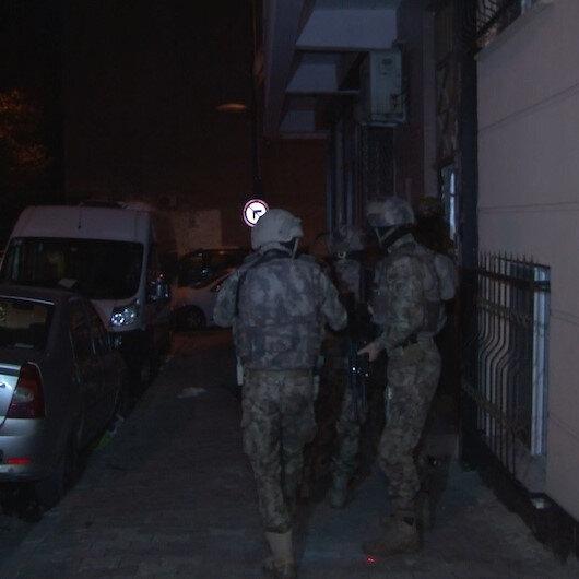 İstanbul'da uyuşturucu tacirlerine yönelik eş zamanlı operasyon