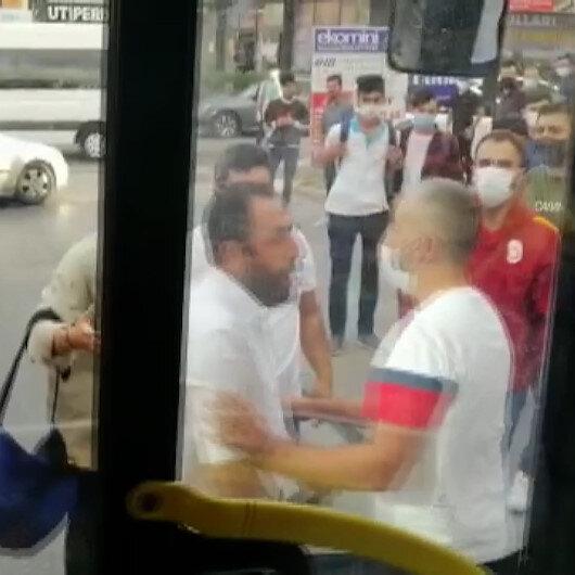 Otobüste fazla yolcu aldın ilerle kavgasında otobüs şoförü kanlar içinde kaldı