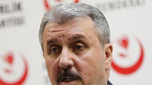 BBP Genel Başkanı Destici: PKK tarafından kurulan HDP kapatılmalıdır