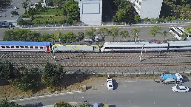 Tuzla'da facianın eşiğinden dönüldü: İki tren kafa kafaya geldi