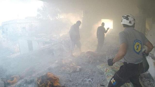 Esad güçleri İdlib'de  sağlık merkezini hedef aldı: 1 ölü, 3 yaralı