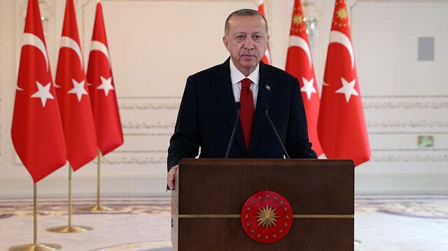 Cumhurbaşkanı Erdoğan'dan Yunanistan'a mesaj: Oldubittilerden vazgeçin