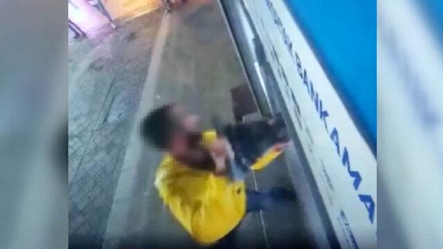 Pendik'te demir dubayla ATM'ye saldırı anları kamerada