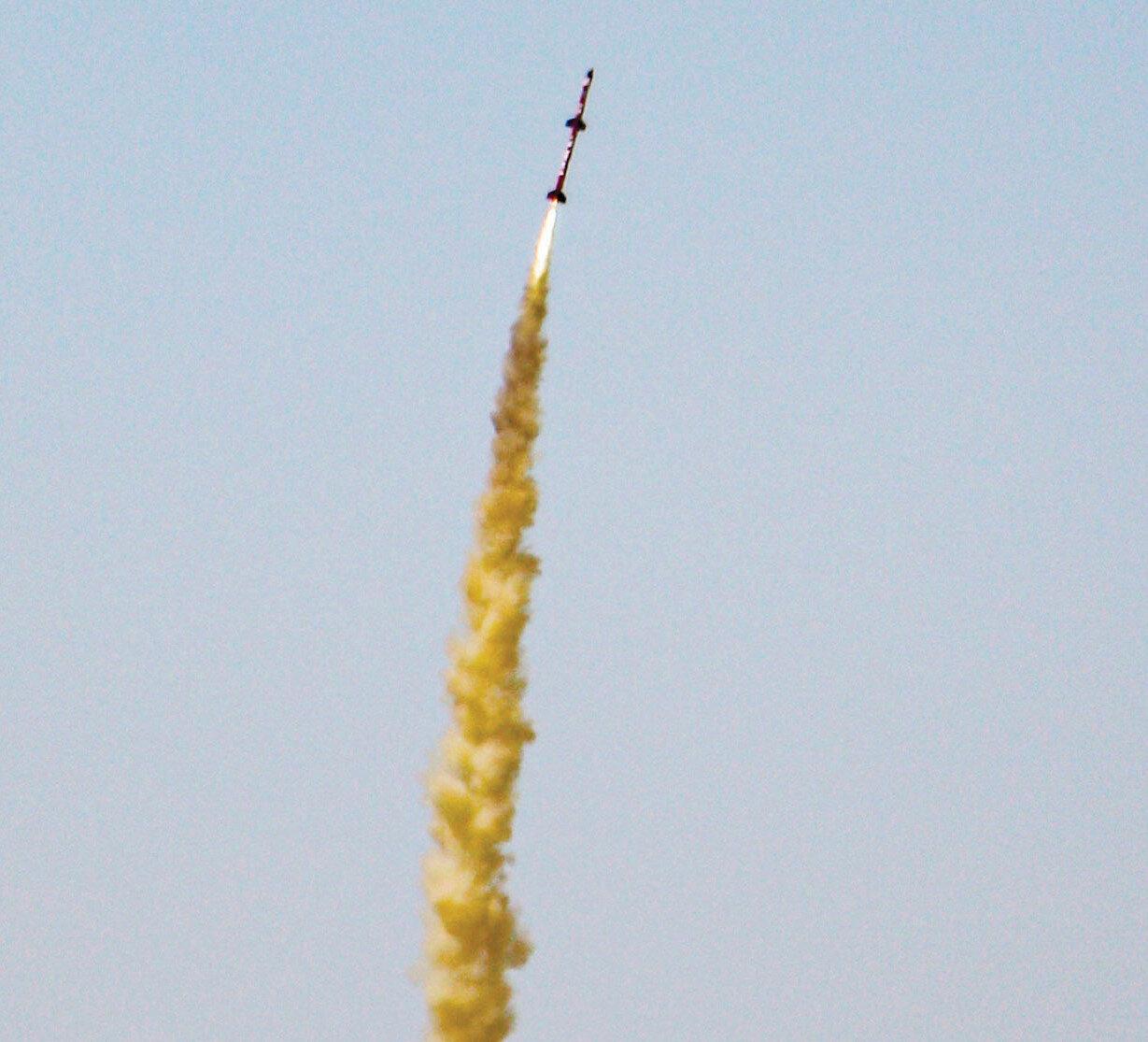 TEKNOFEST 2021 kapsamında düzenlenen Roket Yarışları'na TuzGölü'nde devam edildi.