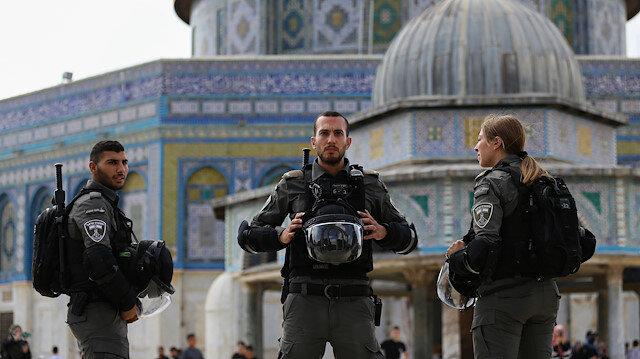 İşgalci İsrail polisi Kudüs'te bir Filistinliyi ağır yaraladı