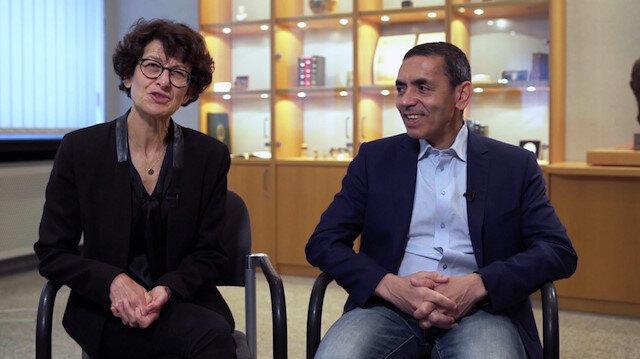 Eczacıbaşı Tıp Onur Ödülü Prof. Uğur Şahin ve Dr. Özlem Türeci'ye verildi