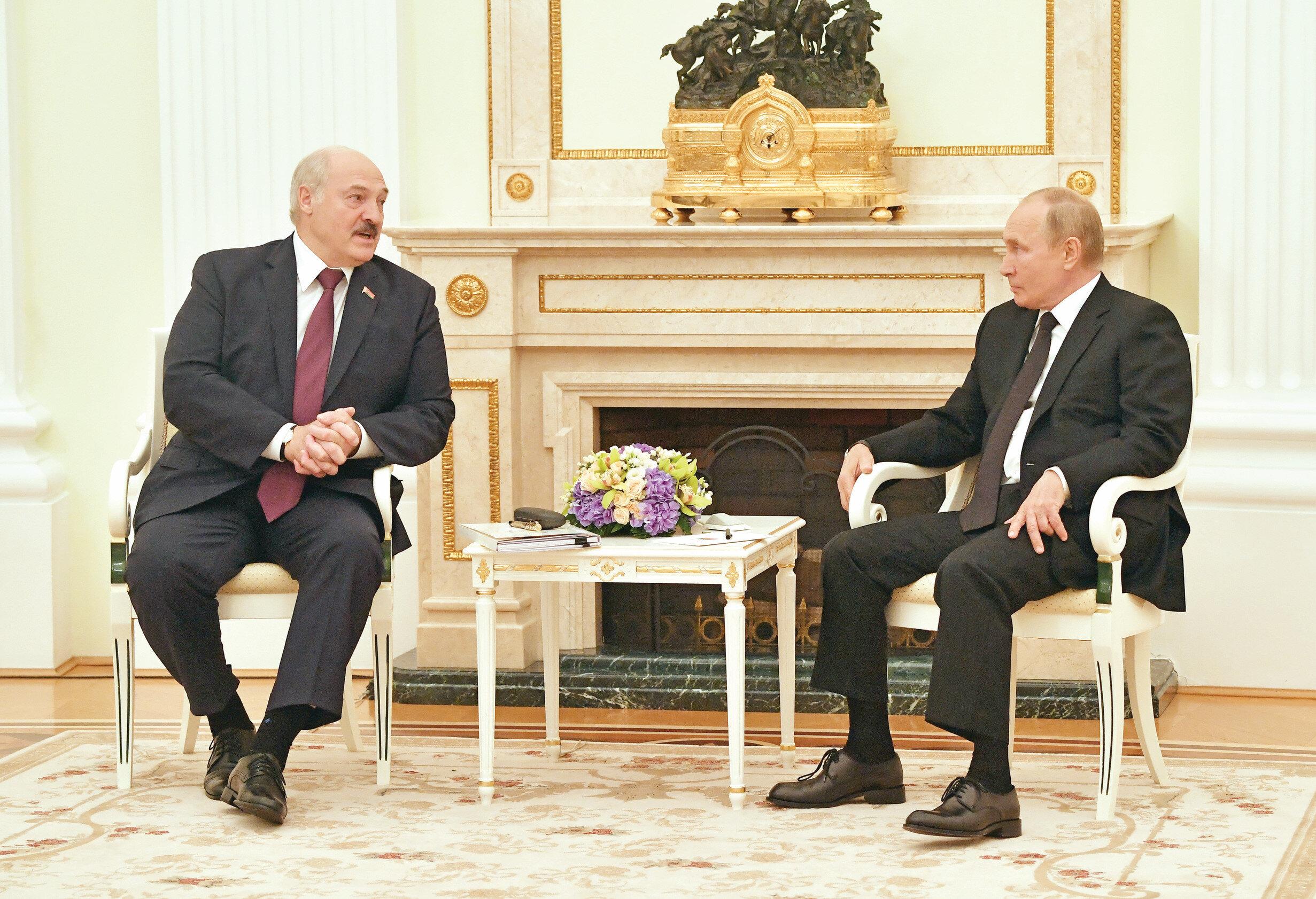 Lukaşenko - Putin
