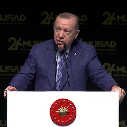 Cumhurbaşkanı Erdoğan: Tüm sabotajlara rağmen 2023 hedeflerimize adım adım yaklaşıyoruz
