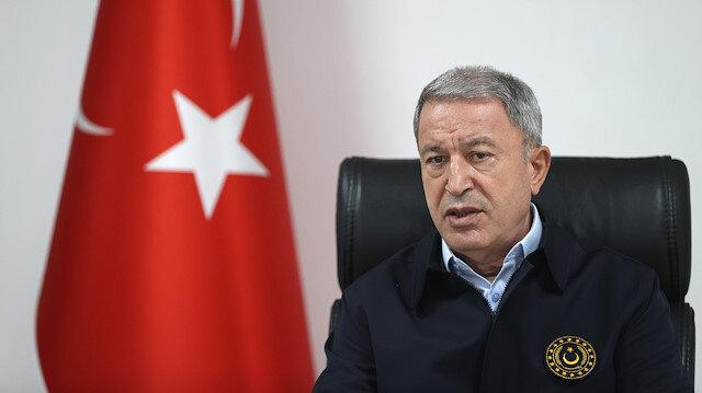 Milli Savunma Bakanı Akar: Şehitlerimizin kanları yerde kalmadı