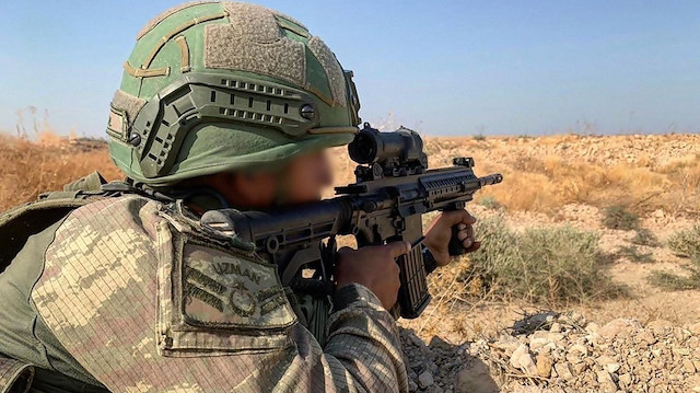 MSB: 4 PKK/YPG'li terörist etkisiz hale getirildi