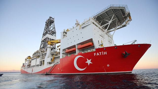 Fatih gemisinden Türkali-5'te yeni sondaj