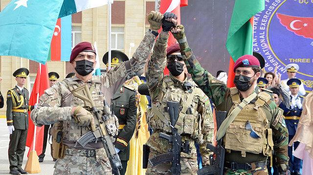 'Üç kardeş' Bakü'de: Türkiye, Azerbaycan ve Pakistan özel kuvvetlerinden ortak tatbikat