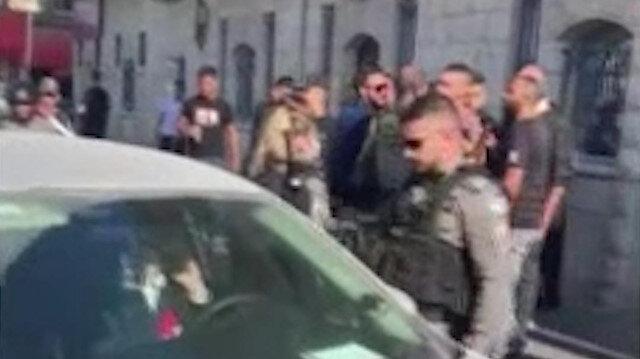 Kudüs'te İsrailli yerleşimci aracıyla Filistinli genci ezdi